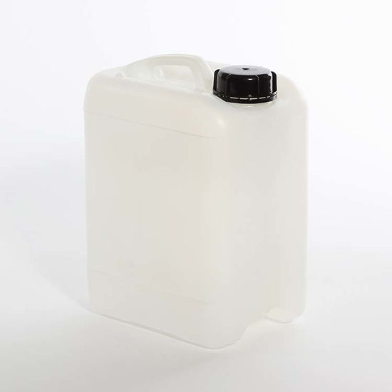 Picture of 4 liter White HDPE Square Tight Head, 50 mm Din Opening w/ Dust Cap, 3H1/X1.2/250