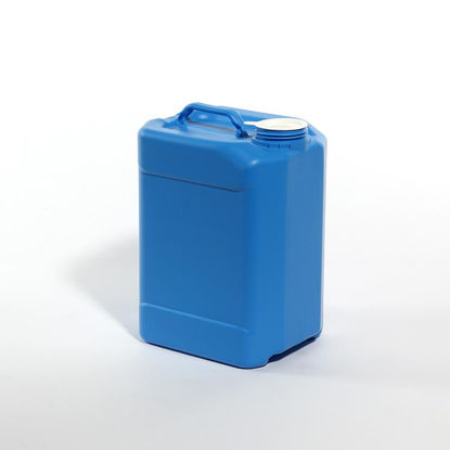 Picture of 10 liter Blue HDPE Square Tight Head, 70 mm, 3H1/Y1.8/100