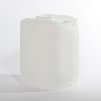 Picture of 5 Gallon Natural HDPE Square Tight Head, 70 mm & Closed Vent w/ Heat Seal Cap, 3H1/Y1.8/150
