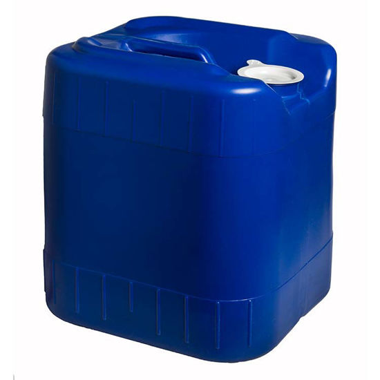 Picture of 20 liter Blue HDPE Square Tight Head, 70 mm & No Vent, 3H1/Y1.8/150