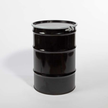 Picture of 30 Gallon Black Steel Open Head Drum, Unlined,  1A2/Y1.4/150 & 1A2/X400/S