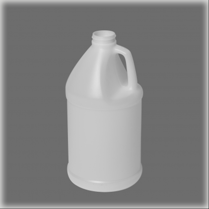Picture of 64 oz White HDPE Industrial Round, 38-400, 70 Gram