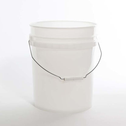 Picture of 20 liter Natural HDPE Open Head Pail, 1H2/Y1.5/30