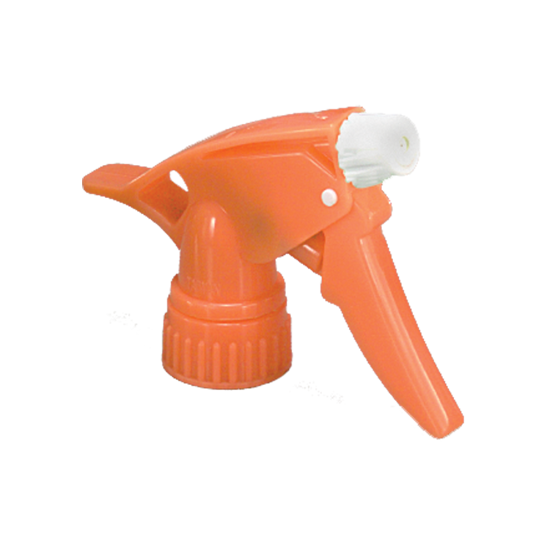 "Picture of Model 300™ Neon Orange/White Trigger Sprayer, 7.25"" Dip Tube"