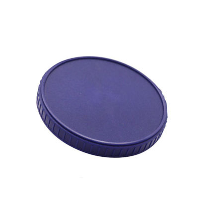 Picture of 109 mm Blue PP Screw Cap For Use with Hybrid Cans