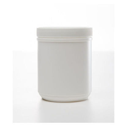 Picture of 32 oz White HDPE Single Thread Canister, 100 mm, 43 Gram