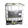 "Picture of 275 Gallon Remanufactured Tote with 6"" Cap and 2"" Ball Valve, Steel or Poly Pallet"