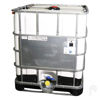 "Picture of 275 Gallon UV Remanufactured Tote with 6"" Cap and 2"" Sealink Ball Valve, Steel Pallet"